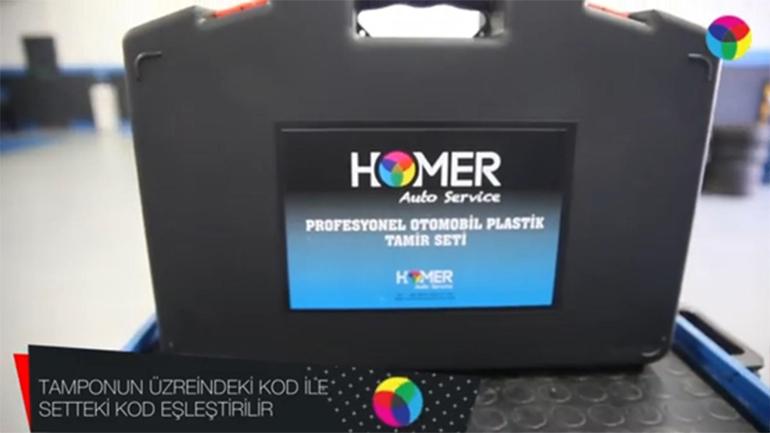 Homer Auto Service Plastik Kaynak Seti